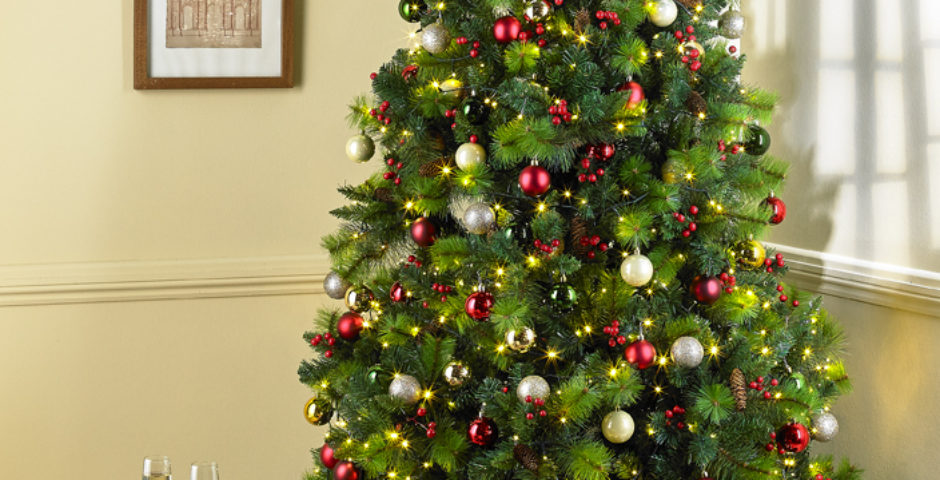 manchester product photography shoot, christmas tree